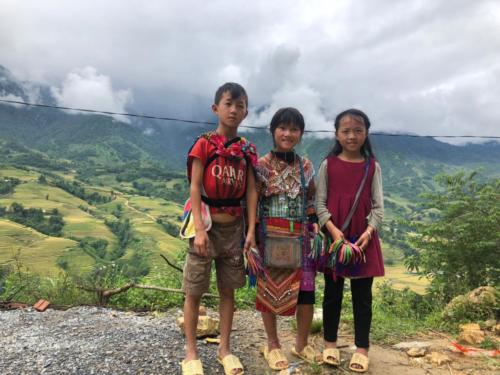 Reise quer durch Vietnam